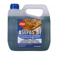 """""""Asepas-1"""", antiseptikas vidaus medienai, koncentratas, skiedžiamas vandeniu 1:2 santykiu"""