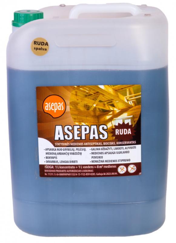 """""""Asepas"""" universalus medienos antiseptikas rudos spalvos"""