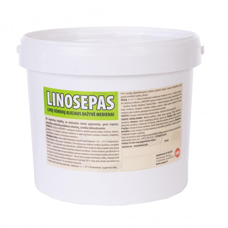 """""""Linosepas"""", linų sėmenų aliejaus dažyvė, bespalvis be pigmentų"""